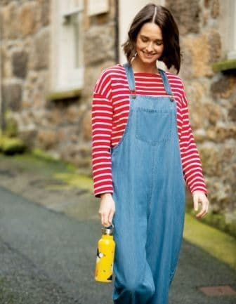 Frugi Constantine Chambray Dungarees